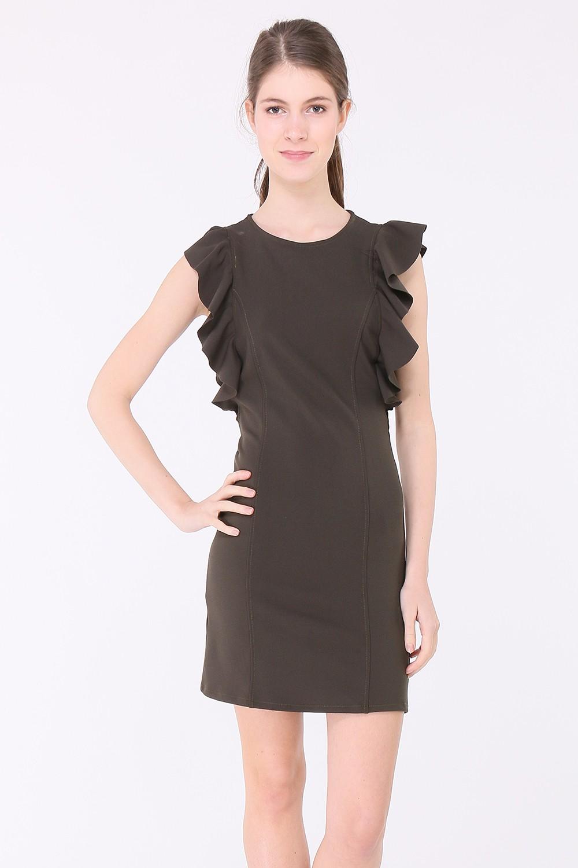 Musta tunika mekko 00003 etu