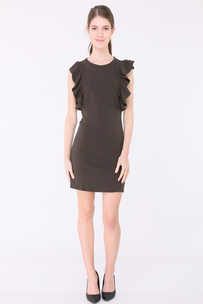 Musta tunika mekko 00003 koko
