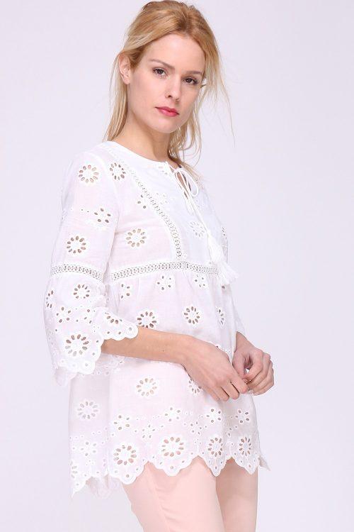 Valkoinen pusero 00098 etu