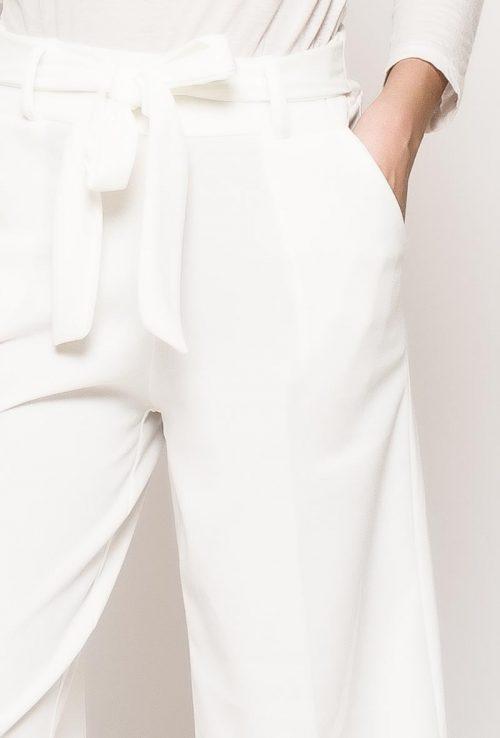Valkoiset culotte-housut 00069 lähi