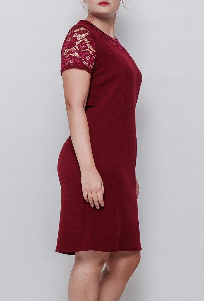 Viininpunainen mekko 00081 sivu