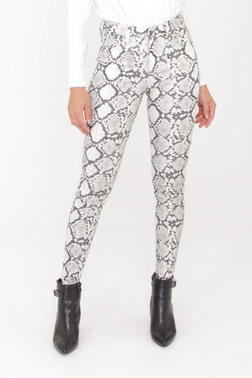00126 Käärmekuvioiset housut etu