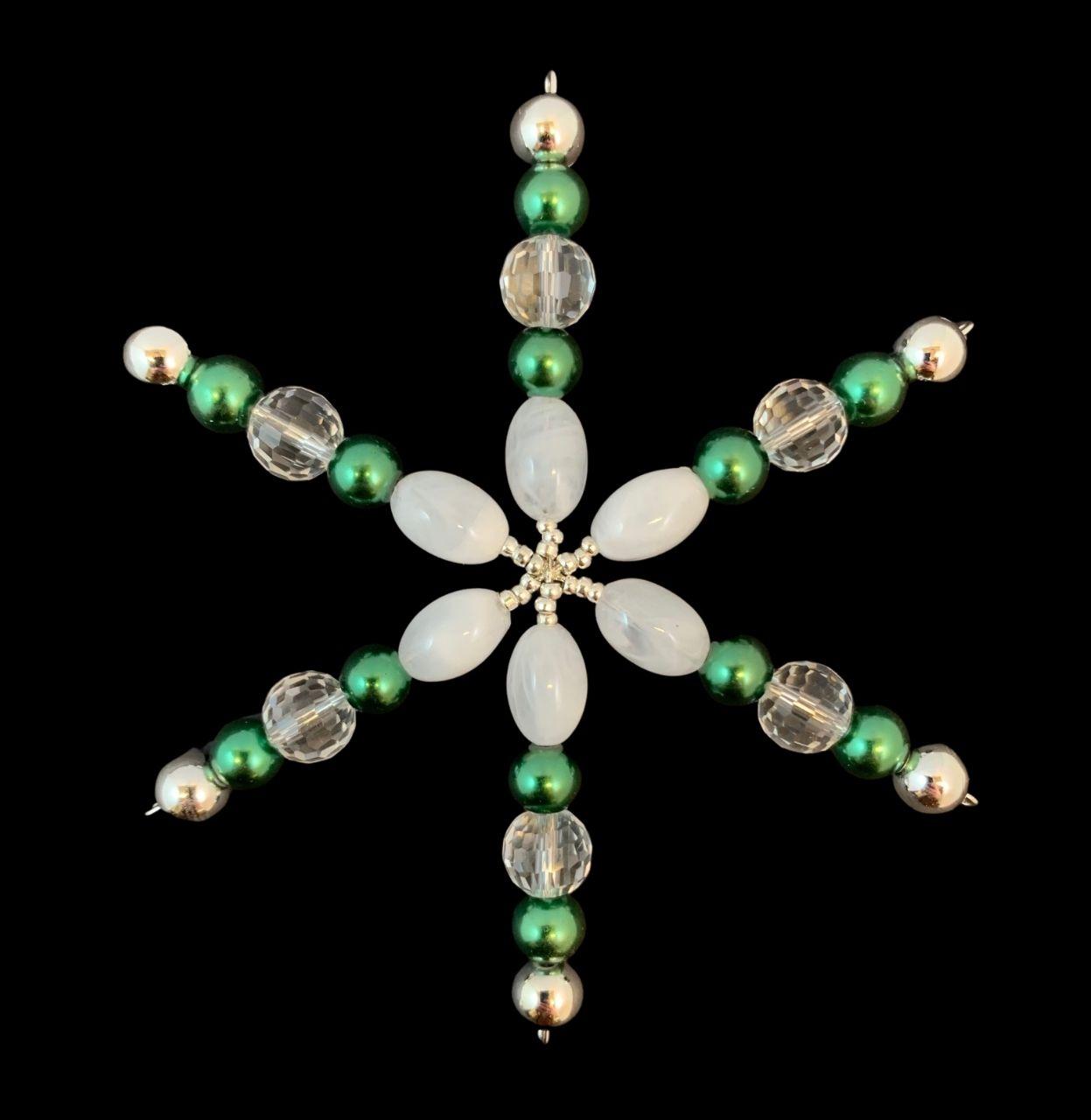 Pieni vihreä koristetähti